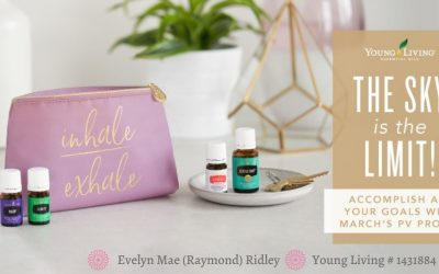 March 2020 Young Living Promo & New Bonuses